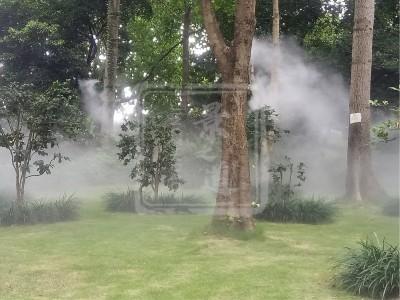 园林景观造雾—清雅自然水雾造景