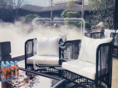 餐厅景观造雾—百变魔术水雾造景