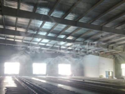 煤矿,煤棚厂房,干雾抑尘,喷雾降温特点