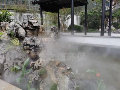 介绍人造雾设备的安装方法