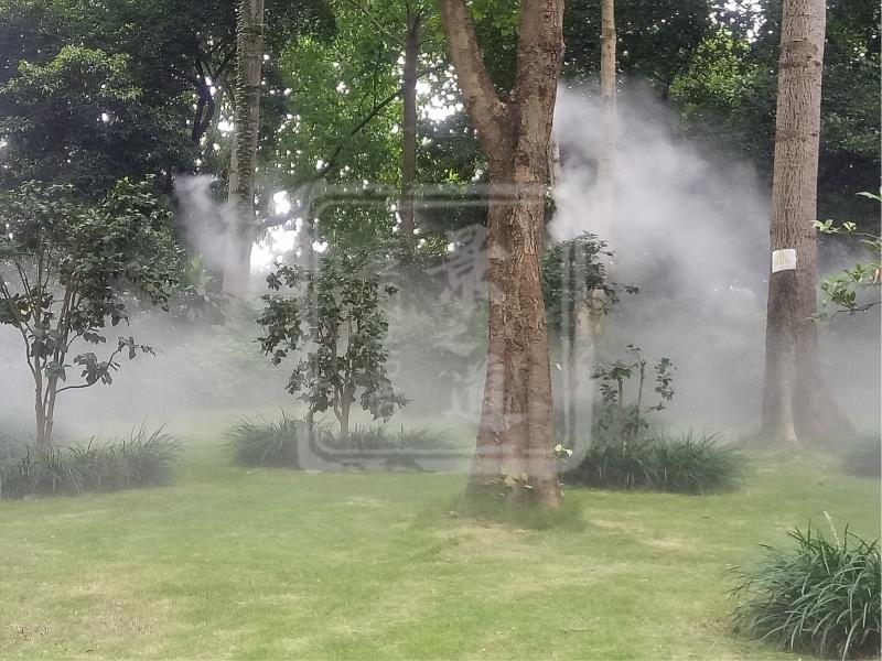 公园景观造雾03